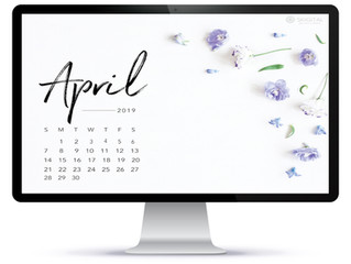 Free, Downloadable Tech Backgrounds for April 2019!