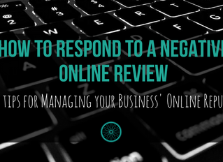 How to Respond to A Negative Online Review