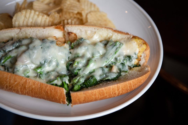 Grilled Chicken & Provolone Sandwich
