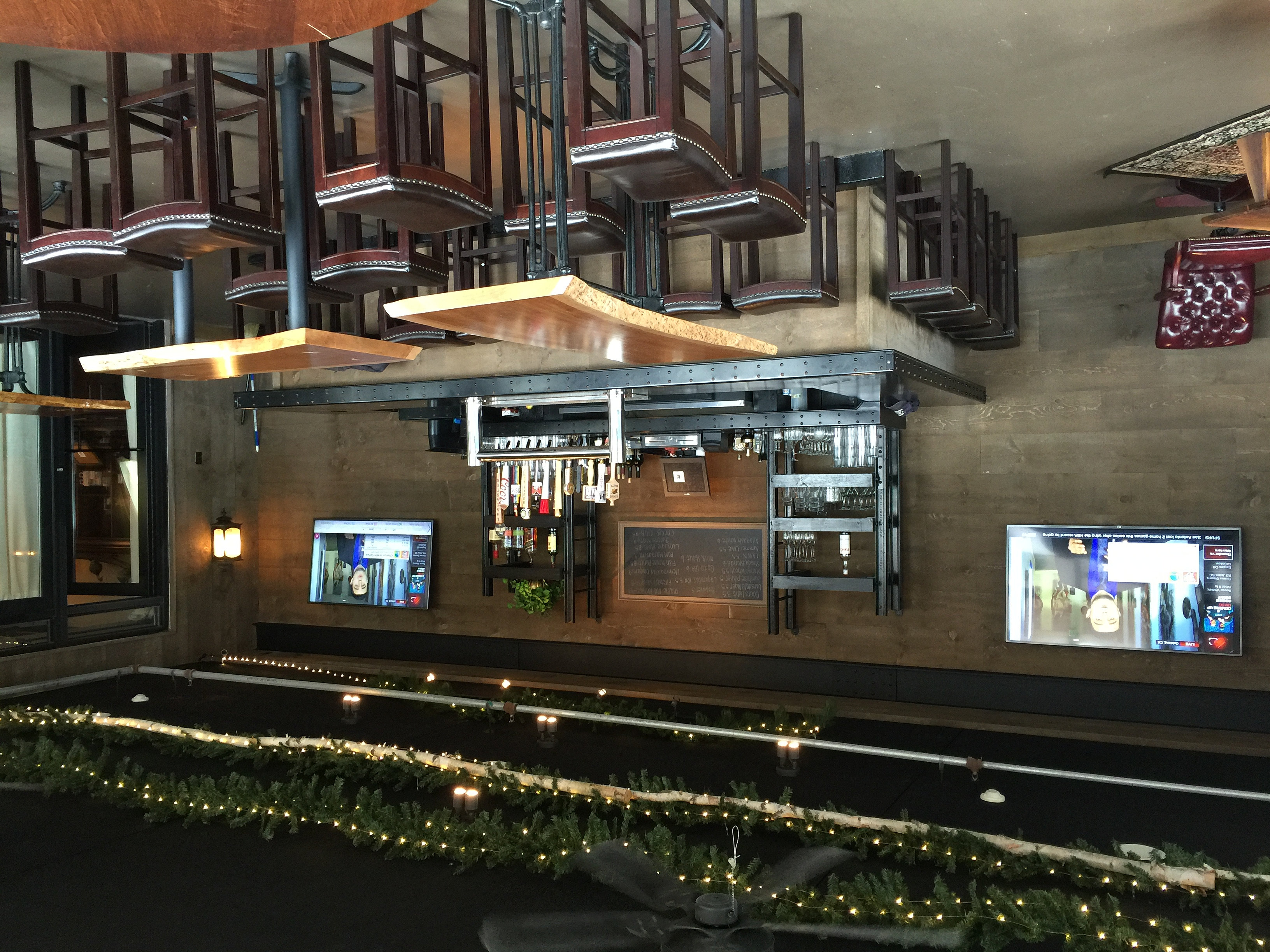 JL Entertainment Designs | Bar TV wiring