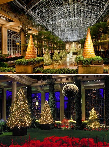 Get into the Spirit of the Holidays at Longwood Gardens
