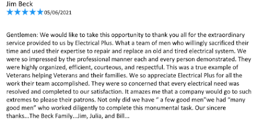 Electrical Plus review