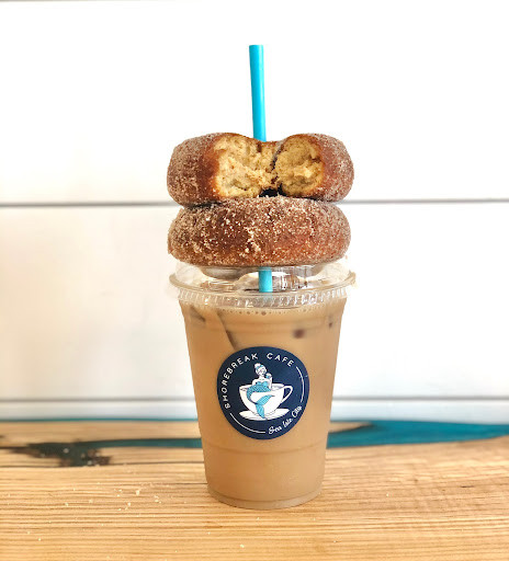 Shorebreak Cafe coffee and donuts