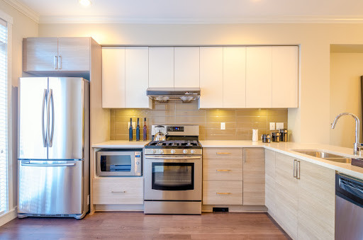 Larger in-home appliances such as dishwashers, ovens, and stovetops might be hardwired into your home.