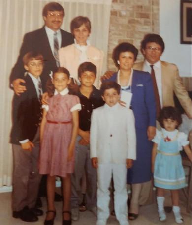 Francesco, Maria and family