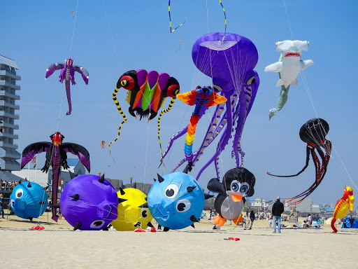 Celebrate the Fourth of July in Ocean City, with a kite flying competition at 7:00 p.m.