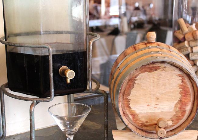 papa-dino-barrel-and-glass_26750480851_o