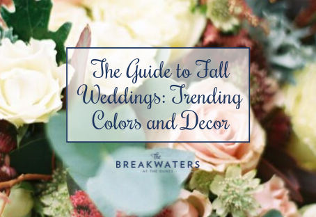 The Guide to Fall Weddings: Trending Colors and Decor
