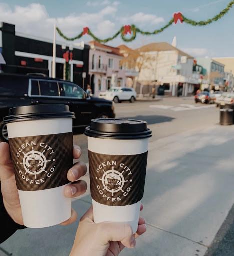 Ocean City Coffee Co cups