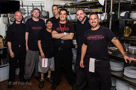 Pietro's Kitchen Staff