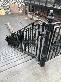 Ornametal railing by JM Welding Inc. Co