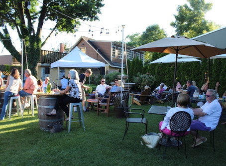 It's Back: Our Popular Beer Garden!