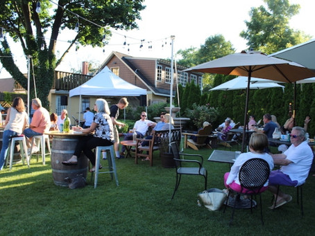 It's Back: Our Popular Beer Garden!