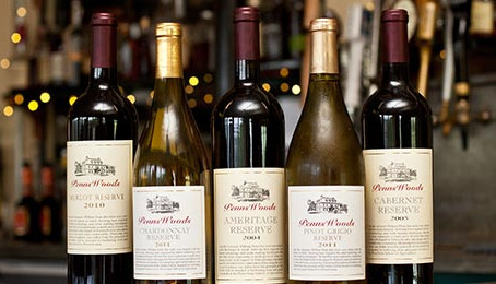 The Gables Wine Pairing Dinner with Penns Woods Winery Thursday, November 21st