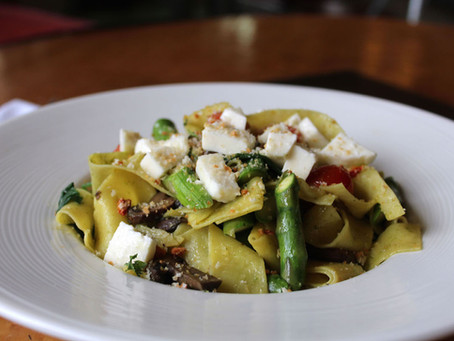 Family Dinner at Home Made Easy: How to Make The Gables' Pappardelle Caprese Pasta