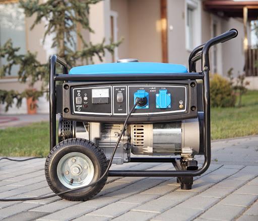 Blue natural gas generator