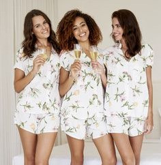 Opt in for cute pajamas or lounge sets that your bridal party will definitely wear again.