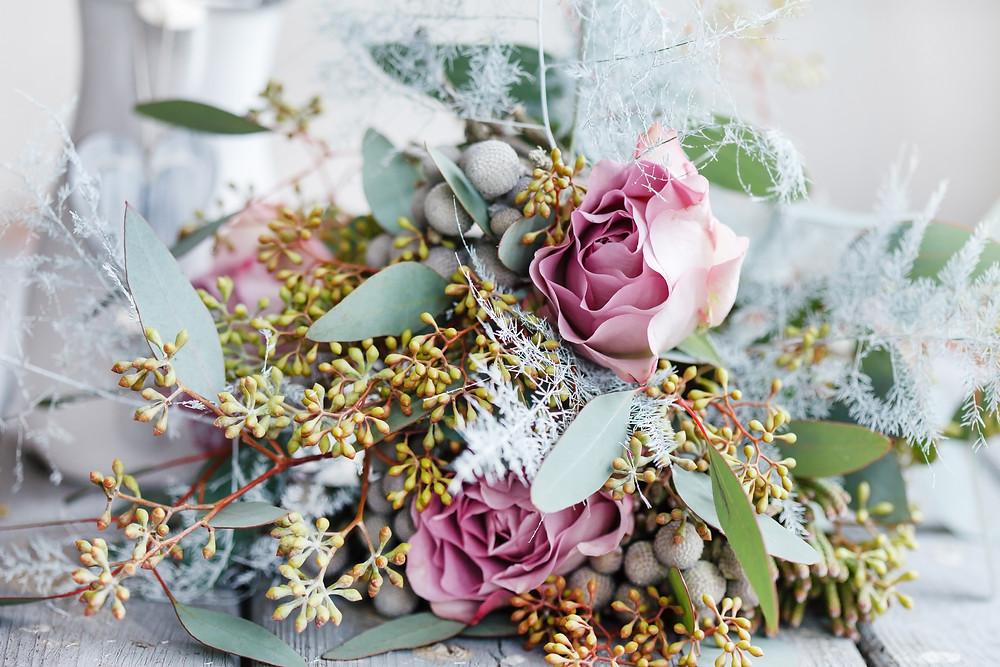 Breakwaters Sea Isle City Winter Wedding Bouquet