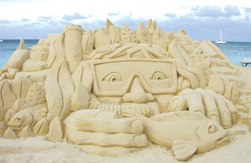 Sand Sculpting Contest - July 1st from 9:00am - 11:00am at the 6th Street Beach