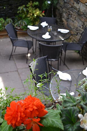 Al Fresco Dining at The Gables at Chadds Ford