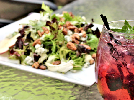 Try This: A Timeless Light Bite Pairing — Gables Salad and Peach & Berry Sangria