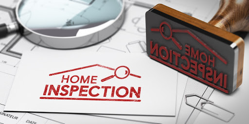 Home inspection stamp