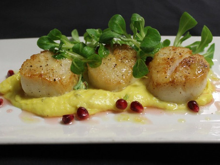 Try This: Our Chef's Spring Scallops Recipe