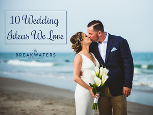 Let's get creative! Everyone wants their wedding to stand out and be unique among the rest.