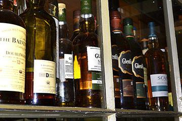 Launching Now at The Gables' Bar: Scotch, Bourbon Flights