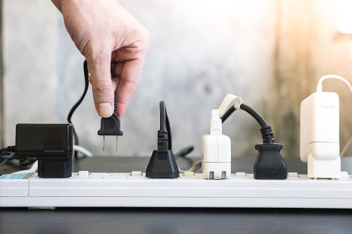 Plugs come in various sizes and voltages depending on the power needed to run the appliance.