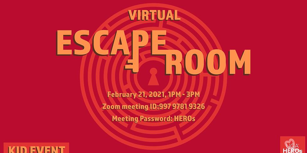 Virtual Escape Room Kid Event