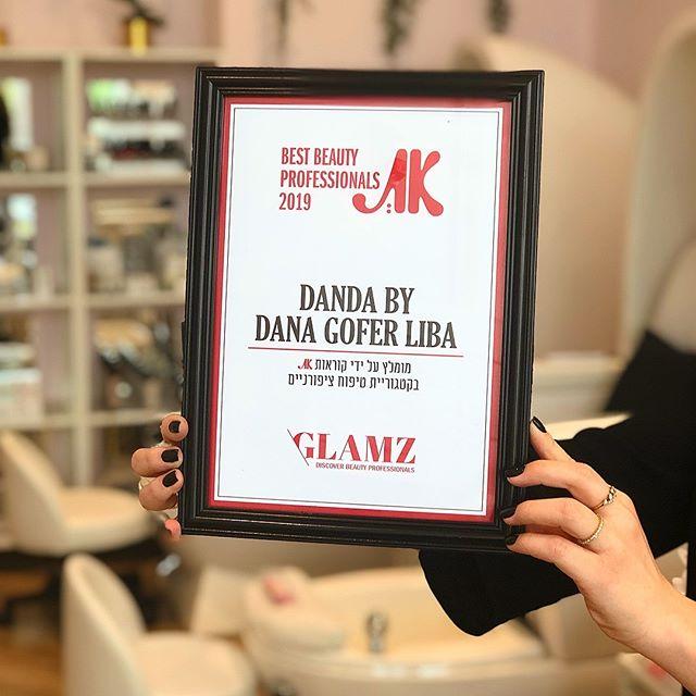 תודה למגזין ״את״ שבחר בDanda במכון יופי