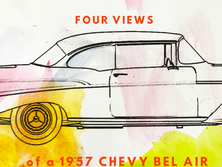 Customize a 1957 Bel Air! *Printable*