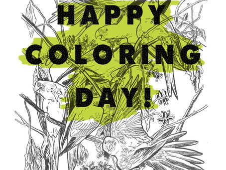 Happy Coloring Day!