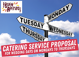 WEEK DAY CATERING SERVICE PROPOSAL 300px