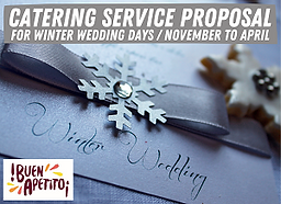 WINTER CATERING SERVICE PROPOSAL - 300px