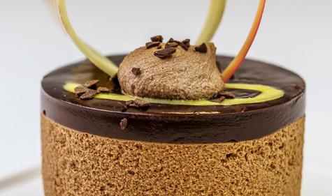 Chocolate & Seville Orange Truffle Torte