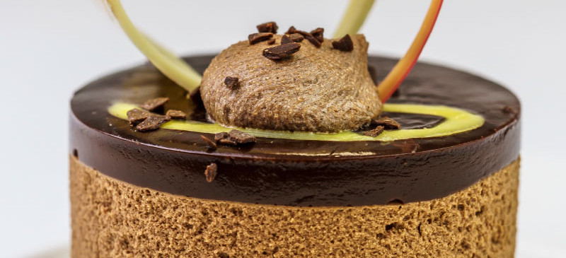 Chocolate & Seville Orange Truffle Torte