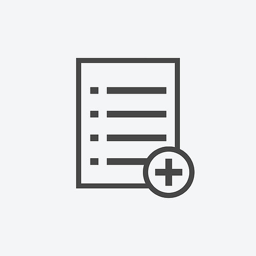 Add New Document to an Existing Evaluation