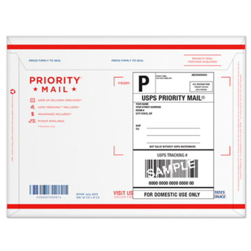 Priority Mail for Return of Original Documents