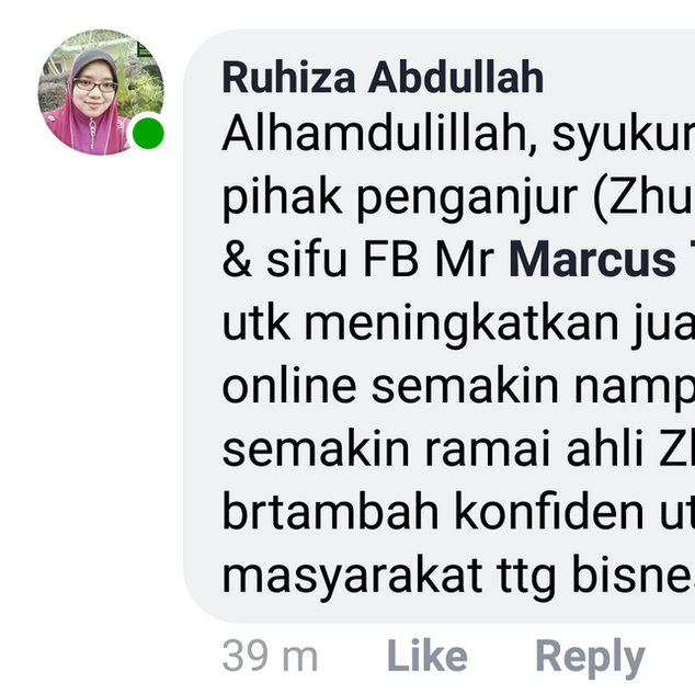 Hajjah Ruhiza Abdullah