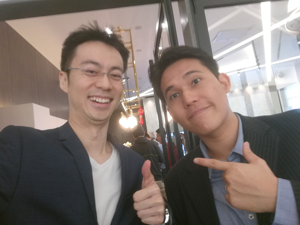 Wefie with Ishmael - I see golden opportunities for retailers using your maps!
