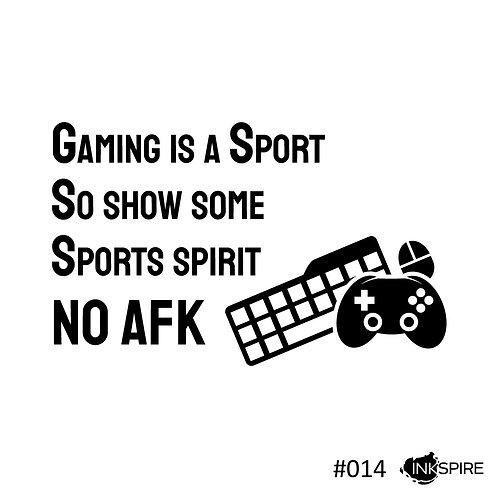 14 No AFK