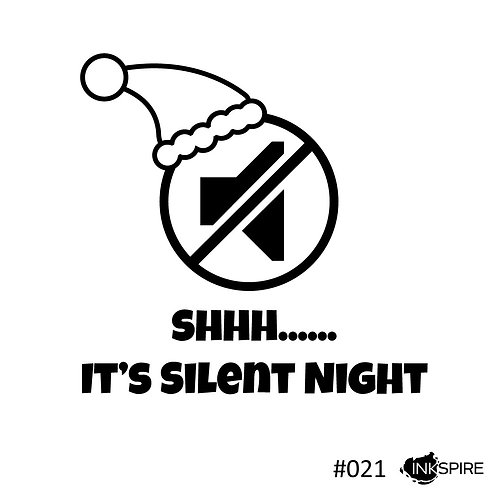 21 Shhh......It's Silent Night