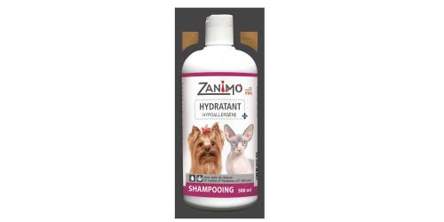 Zanimo- shampoing 500ml argan + aloès + chanvre