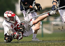 Lacrosse Defense Play