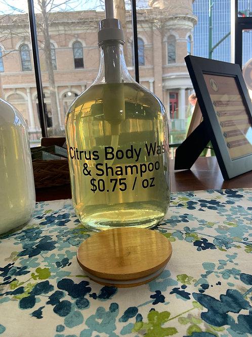 Citrus Shampoo & Body Wash