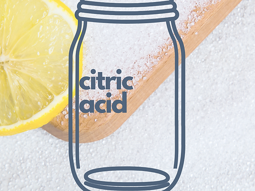 Citric Acid by the oz