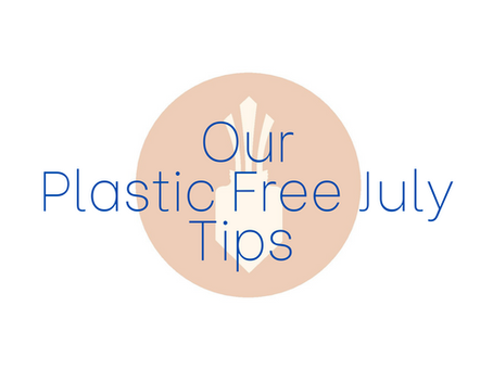 Our Plastic Free July Tips