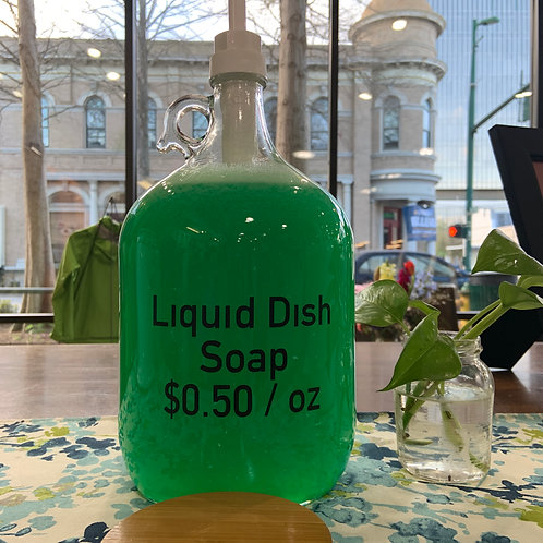 Concentrated Liquid Dish Soap